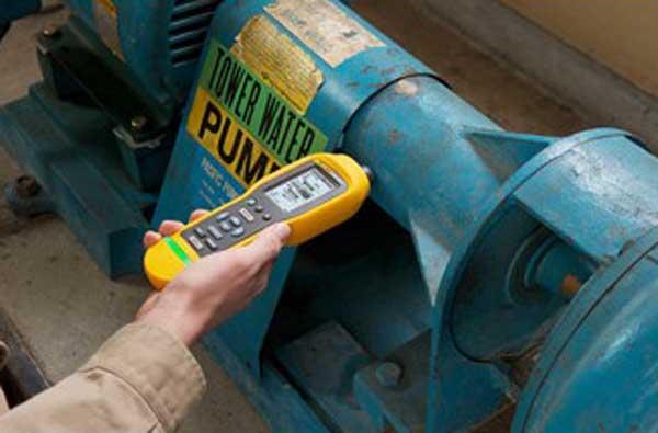 Pomiary wibracji - Wibrometr Fluke 805FC